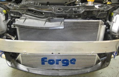 Intercooler Forge sur Opel Corsa OPC